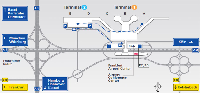 Flughafen Frankfurt Ankunft