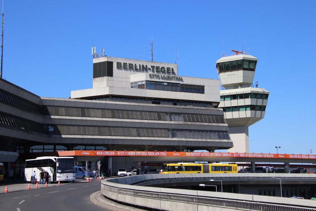 Ankunft Flughafen Tegel